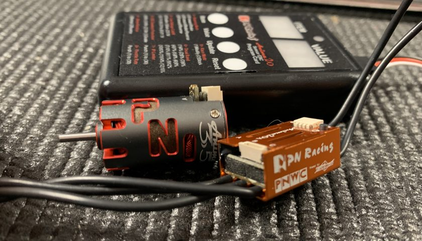 PN Racing Anima Brushless Sensored ESC